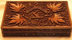Wood Carving Art In Kashmir