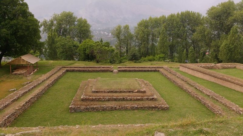 ancient-buddhist-site-situated-at-harwan-in-kashmir